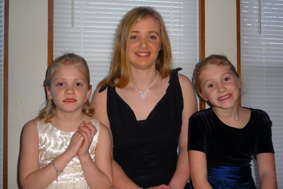 My 3 princesses today