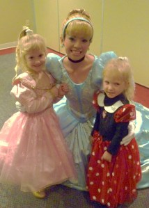Their first meeting with Cinderella.