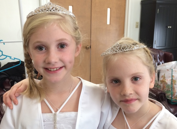 With their crowns