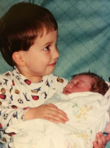 Kayla's first day in the world--Feb 8, 1998